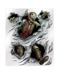 Decorazione per muro Zombie 152 x 182 cm