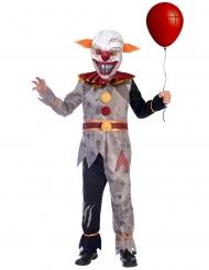 Costume da clown malefico per ragazzo