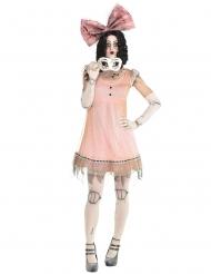 Costume da bambola inquietante per donna