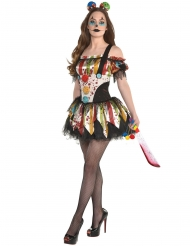 Costume da clown malvagio per donna