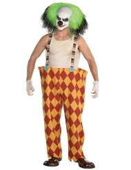 Costume da clown sinistro per uomo