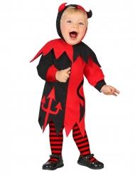 Costume da piccolo diavolo per bebe