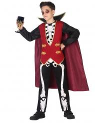 Costume da scheletro vampiro per bambino