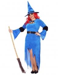 Costume strega del nord taglia grande per donna