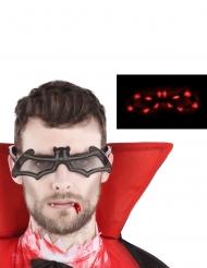 Occhiali pipistello luminosi adulto