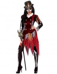 Costume da strega voodoo per donna