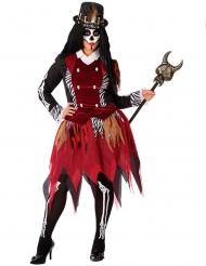 Costume da strega voodoo per donna taglia grande