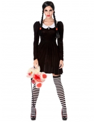 Costume da scolara macabra per donna