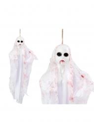 Decorazione da appendere bambola fantasma 50 cm