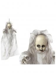 Decorazione da appendere bambola spaventosa 50 cm