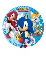 8 Piattini di carta Sonic™ 18cm