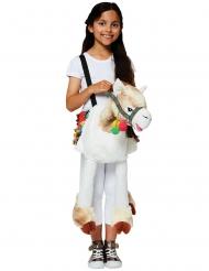 Costume a cavallo di un lama per bambino