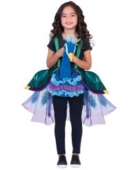 Costume a dorso di un pavone per bambina