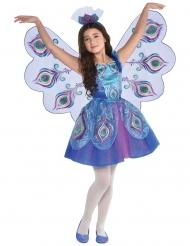 Costume da pavone grazioso per bambina