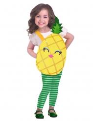 Costume dolce e piccola ananas per bambina