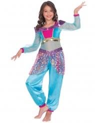 Costume da genio ballerina orientale per bambina