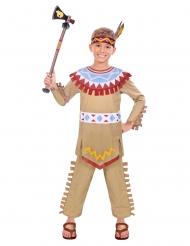 Costume da indiano colorato per bambino