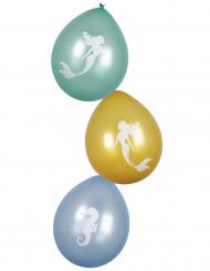 6 Palloncini sirena lagina