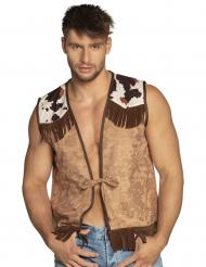 Gilet western da cowboy per uomo