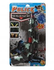 Pistola verde e nera militare