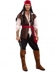 Costume da pirata in taglia forte