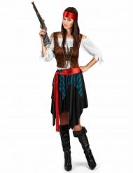 Costume da pirata taglie forti per donna