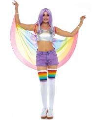 Mantello arcobaleno adulto