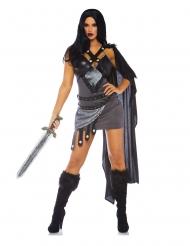 Costume deluxe guerriera del trono sexy per donna
