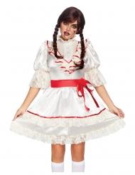 Costume lusso bambola stregata donna