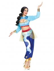 Costume genio azzurro della lampada donna