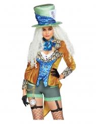 Costume deluxe cappellaio eccentrico per donna