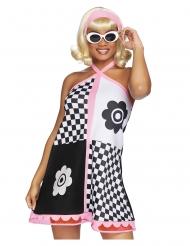 Costume deluxe anni 60 per donna