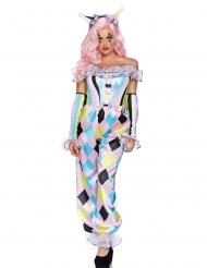 Costume deluxe adorabile clown donna