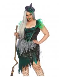 Costume deluxe da strega dell