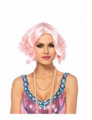 Parrucca lusso corta e rosa donna
