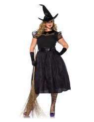 Costume deluxe strega ammaliante taglia grande per donna