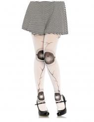 Calze bambola scheggiata donna