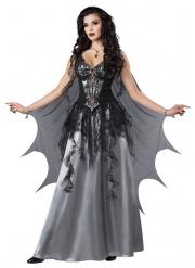 Costume contessa vampiro grigio donna