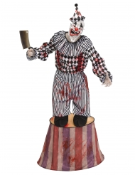 Costume clown terrificante su tendone