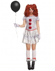 Costume clown infernale per donna