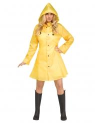 Costume impermeabile giallo donna