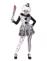 Costume da clown assassino per donna