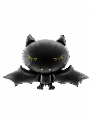 Palloncino in alluminio pipistrello nero
