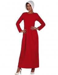 Costume servitrice rosso donna