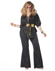Costume disco abbagliante taglie grandi donna