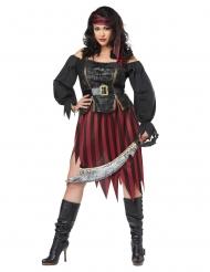 Costume pirata grande taglia donna