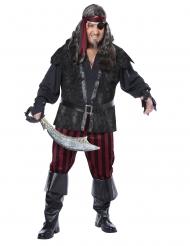 Costume pirata spietato grandi taglie uomo