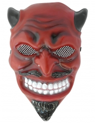 Maschera diavolo adulto