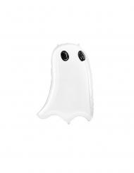 Palloncino in alluminio fantasma bianco 68 cm