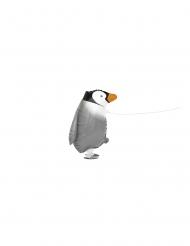 Palloncino alluminio pinguino che cammina 48cm